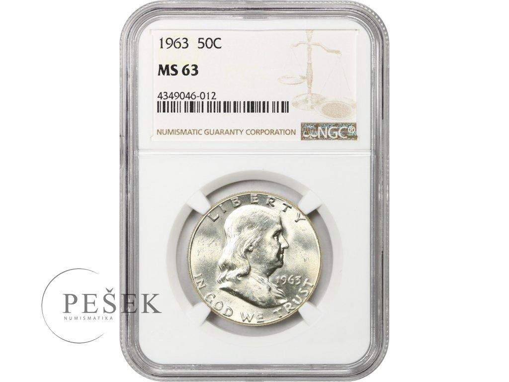 5235 1 2 dollar 1963