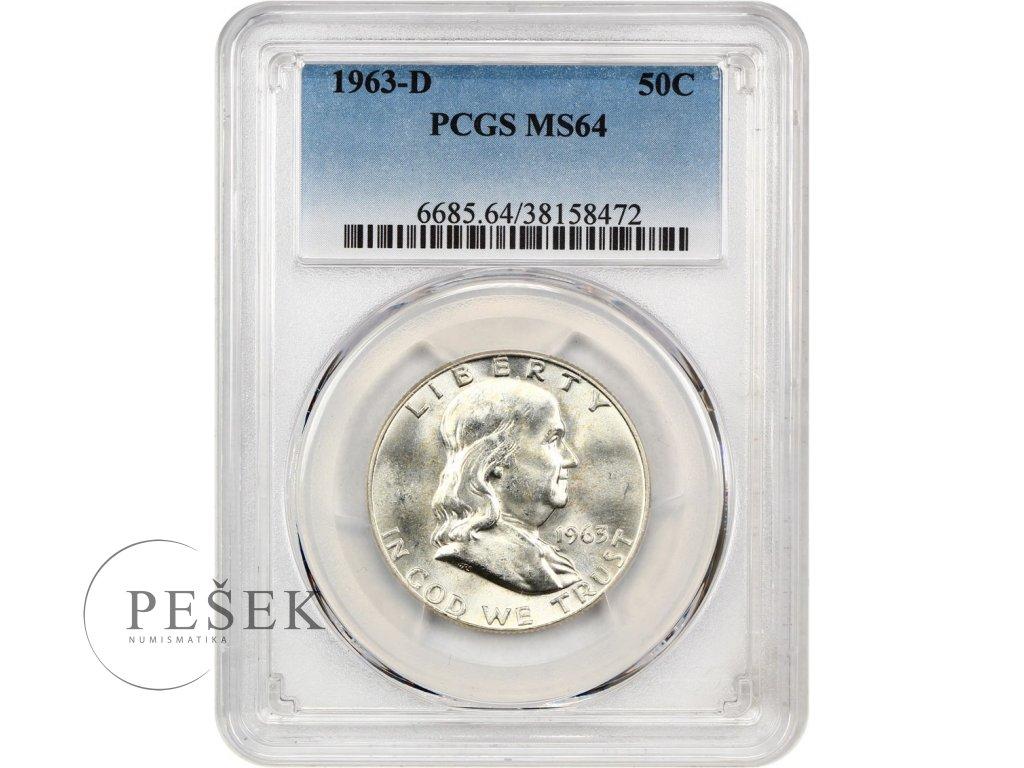 5244 1 2 dollar 1963 d