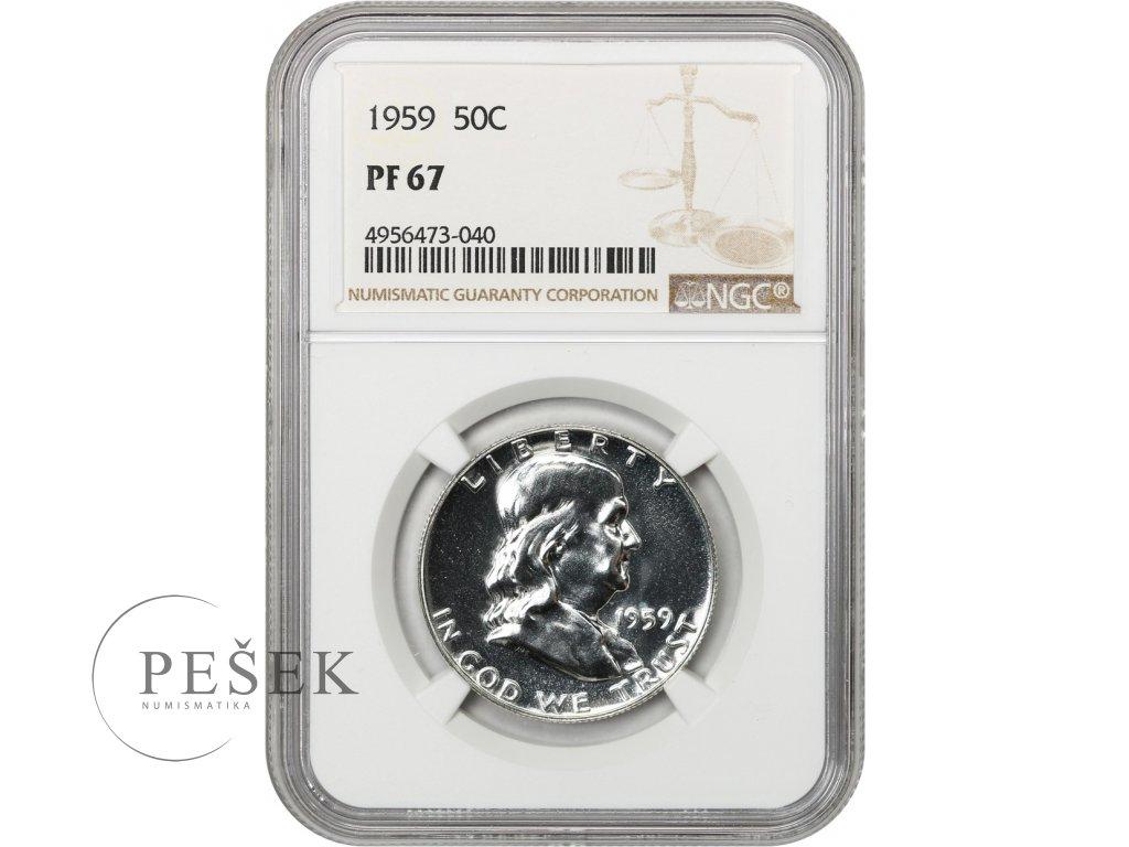 5253 1 2 dollar 1959