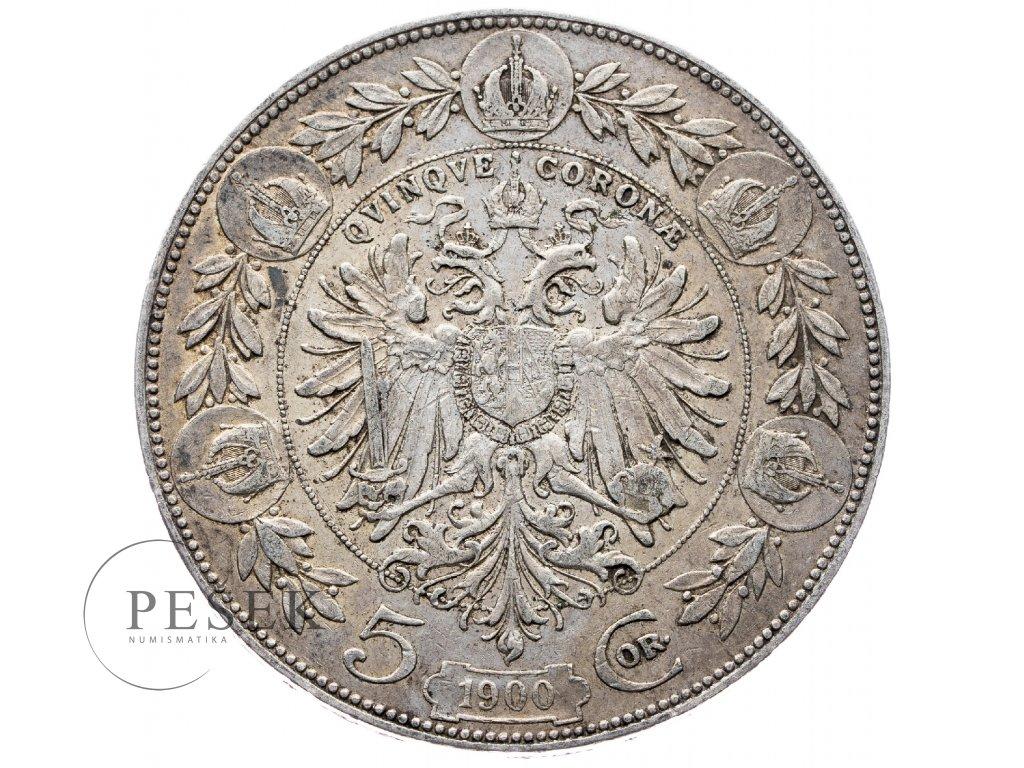 5364 5 koruna 1900