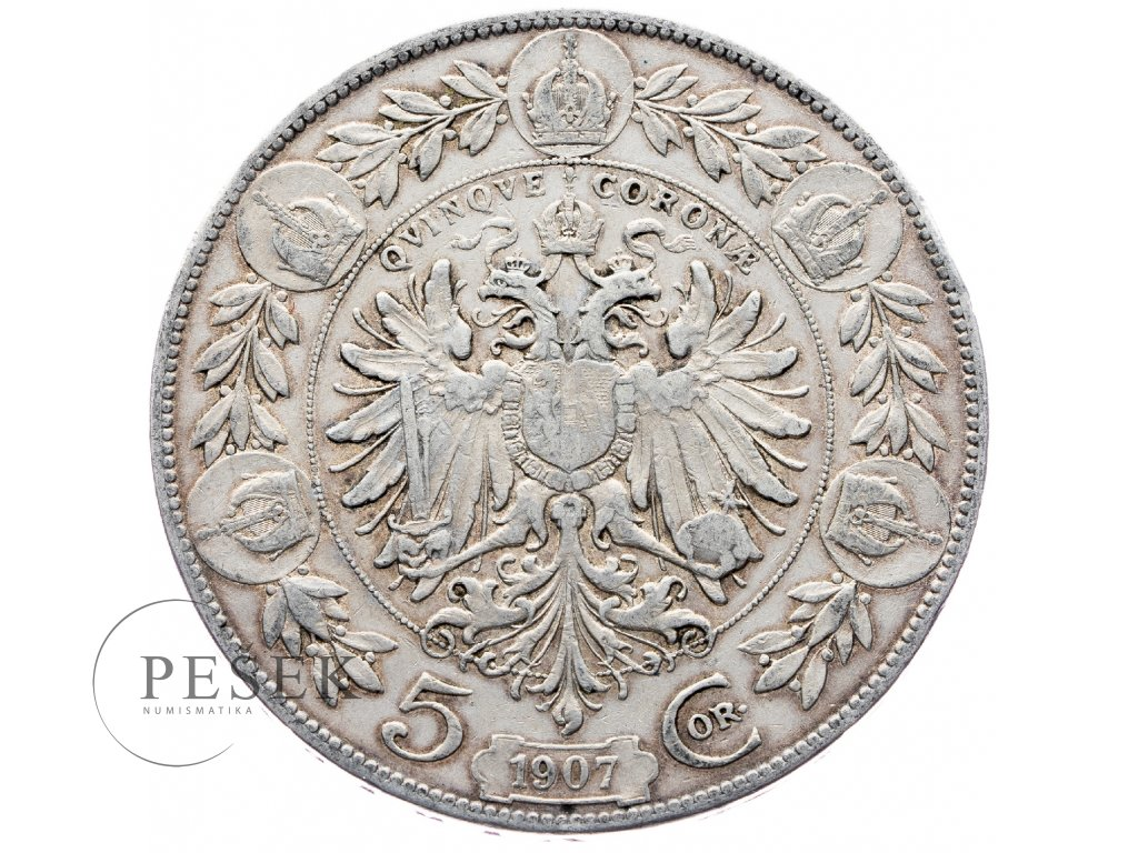 5367 5 koruna 1907