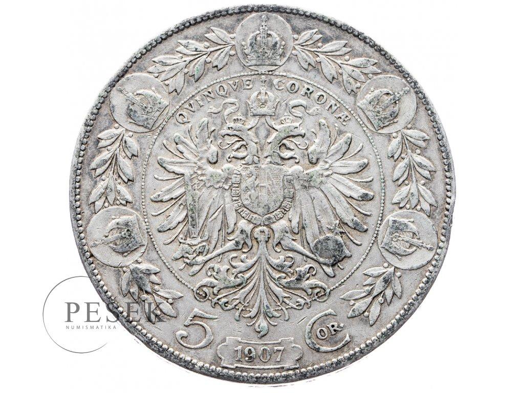 5370 5 koruna 1907