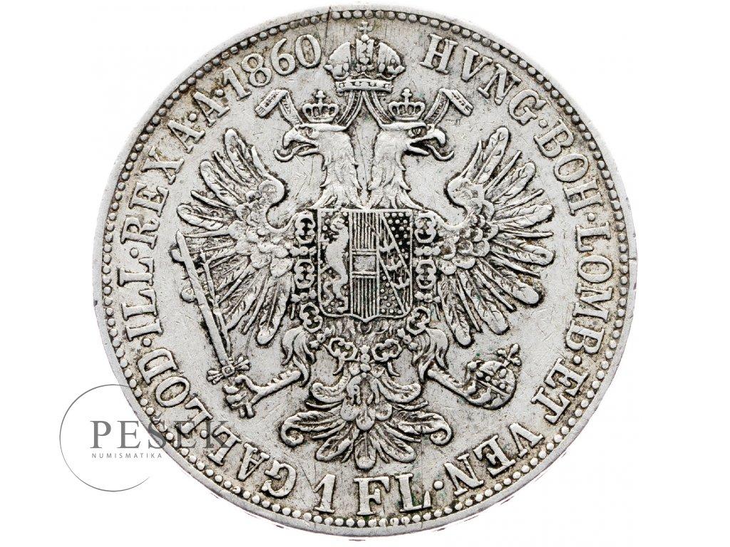 5496 zlatnik 1860 b