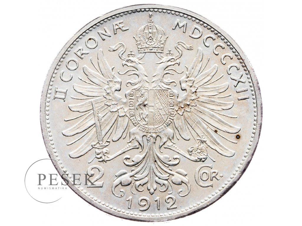 5637 2 koruna 1912 bz