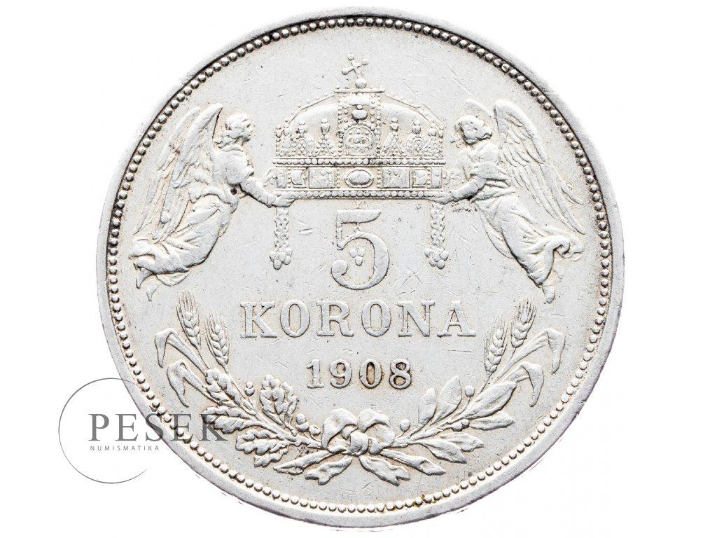 5652 5 koruna 1908 kb