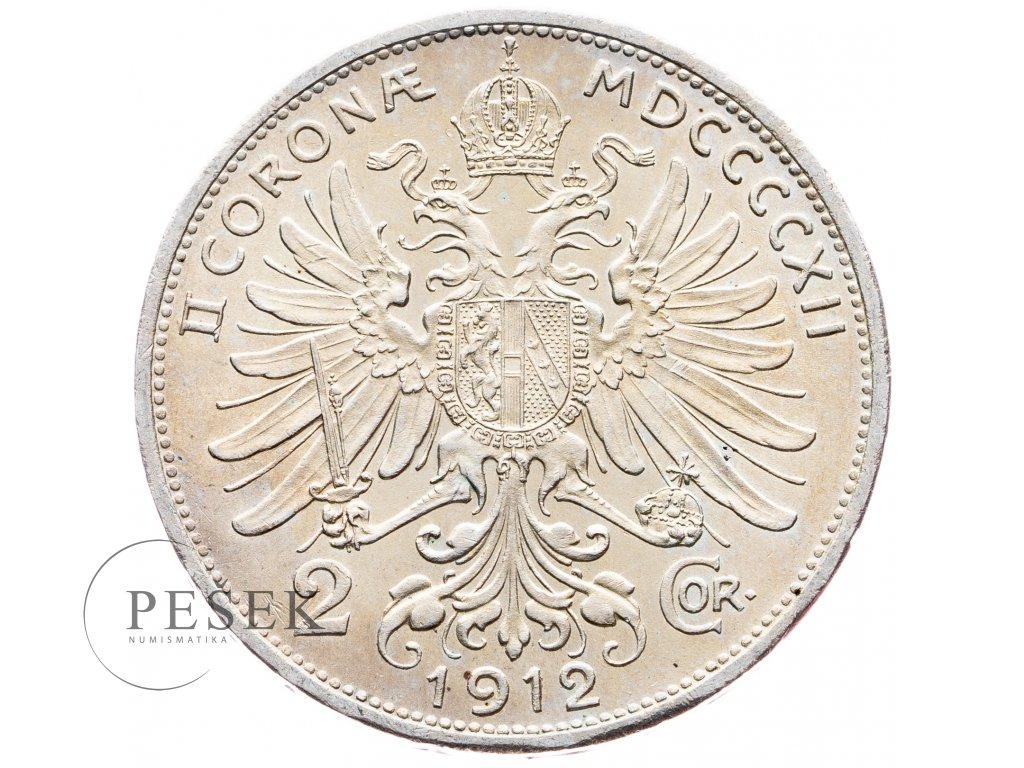 5661 2 koruna 1912 bz