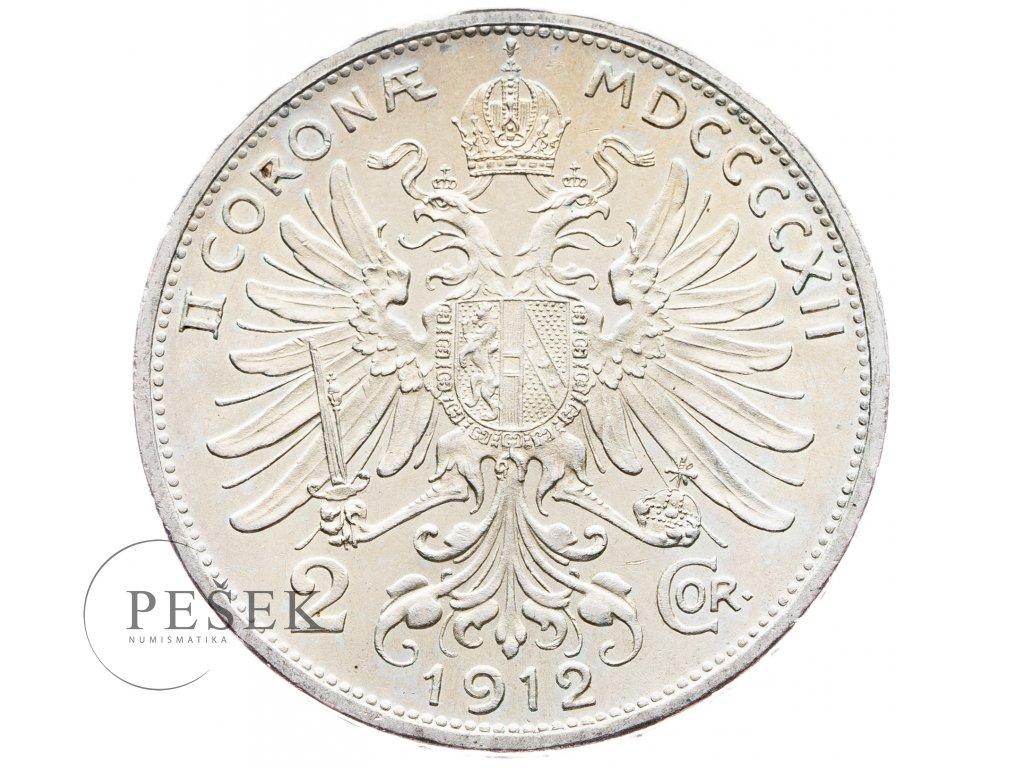 5664 2 koruna 1912 bz
