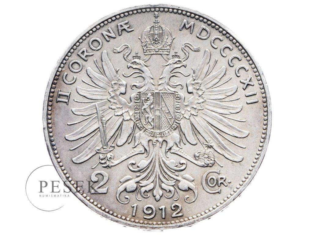 5667 2 koruna 1912 bz