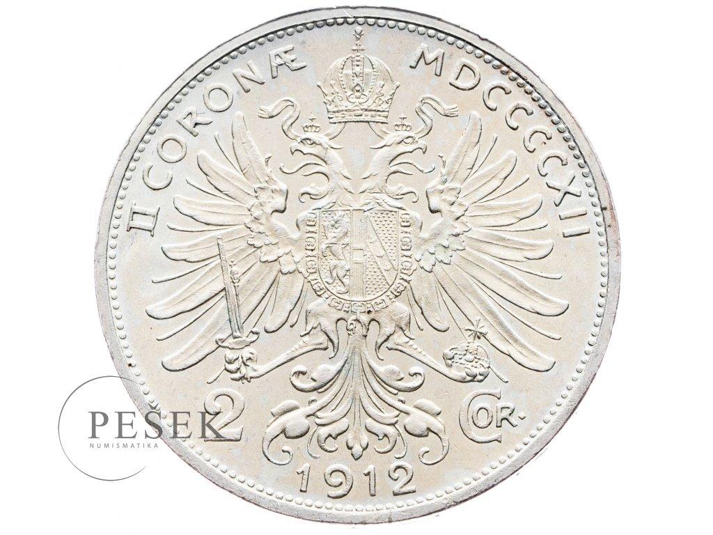 5679 2 koruna 1912 bz