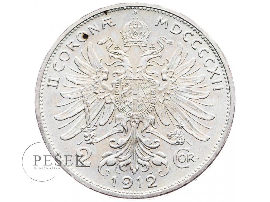 5682 2 koruna 1912 bz
