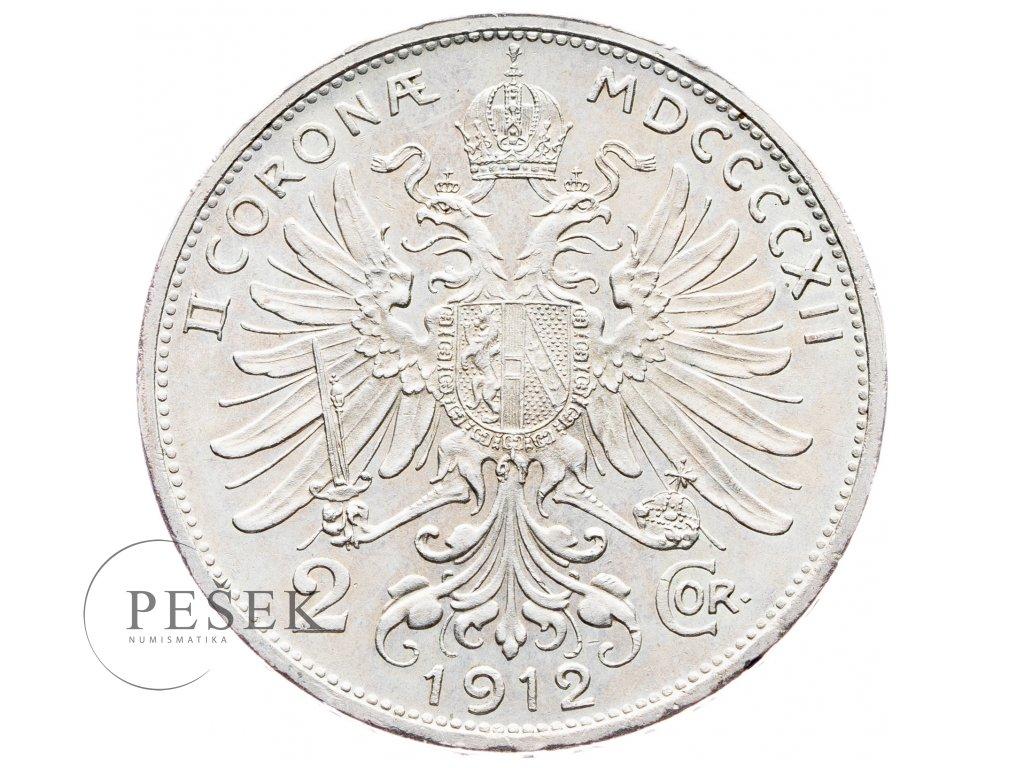 5685 2 koruna 1912 bz