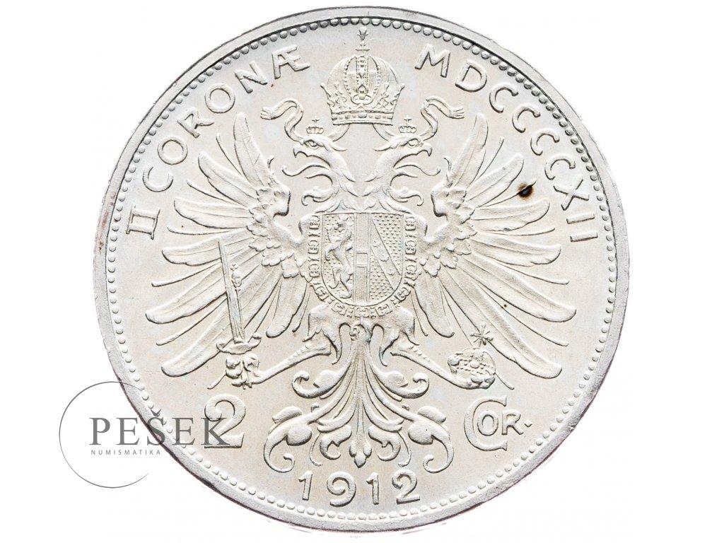 5691 2 koruna 1912 bz