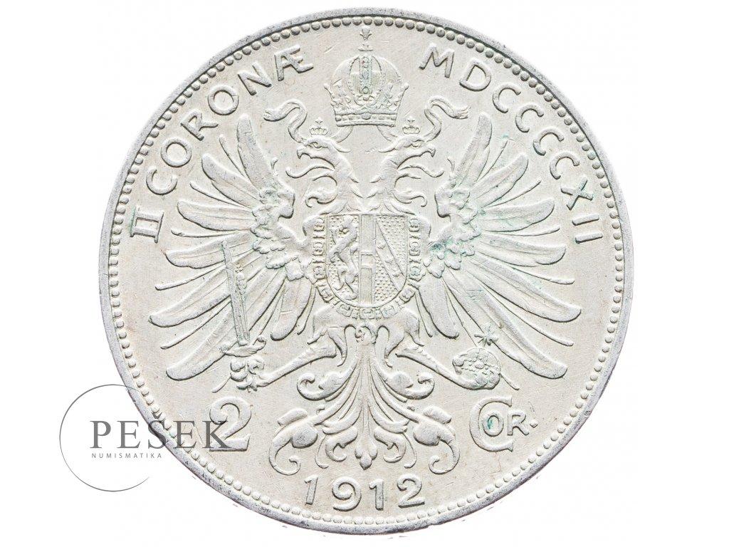 5694 2 koruna 1912 bz