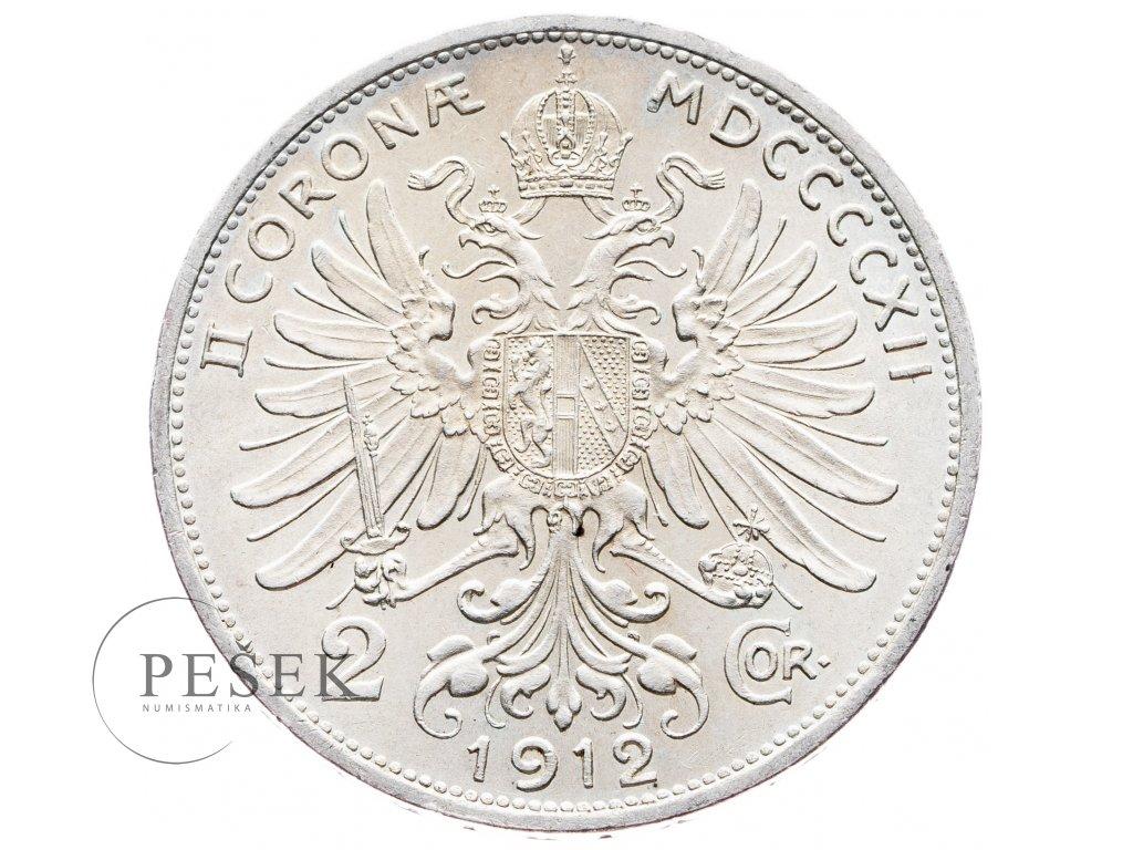 5697 2 koruna 1912 bz