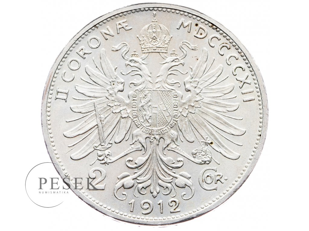 5700 2 koruna 1912 bz