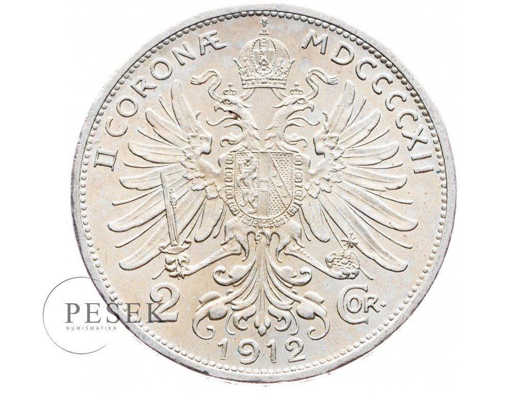 5709 2 koruna 1912 bz