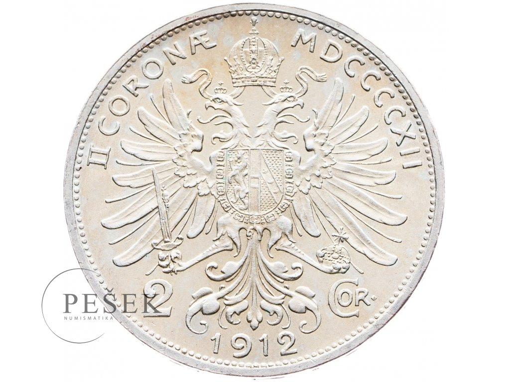 5712 2 koruna 1912 bz