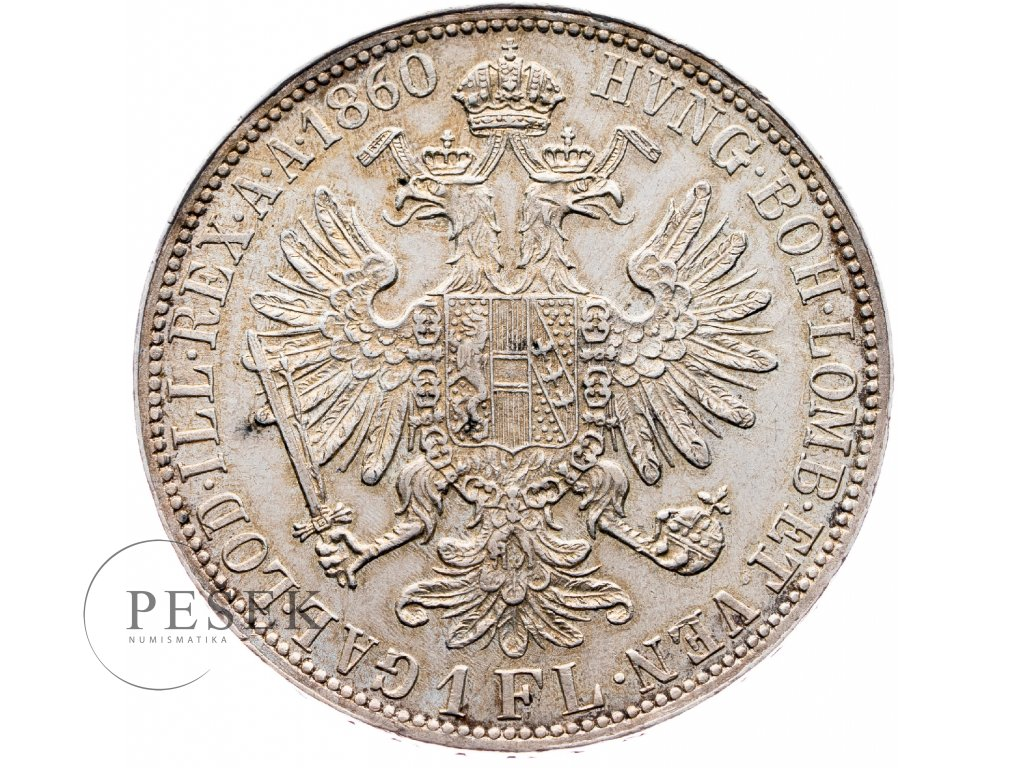 5847 zlatnik 1860 a