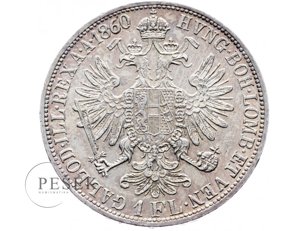 5853 zlatnik 1860 a