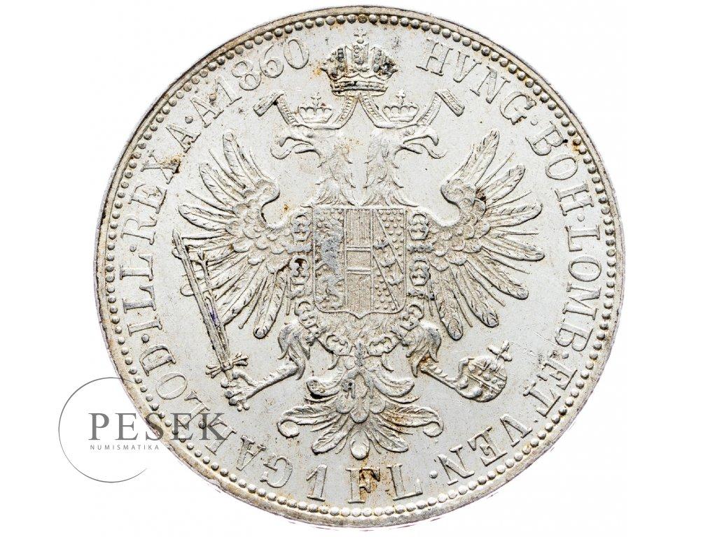 5856 zlatnik 1860 a