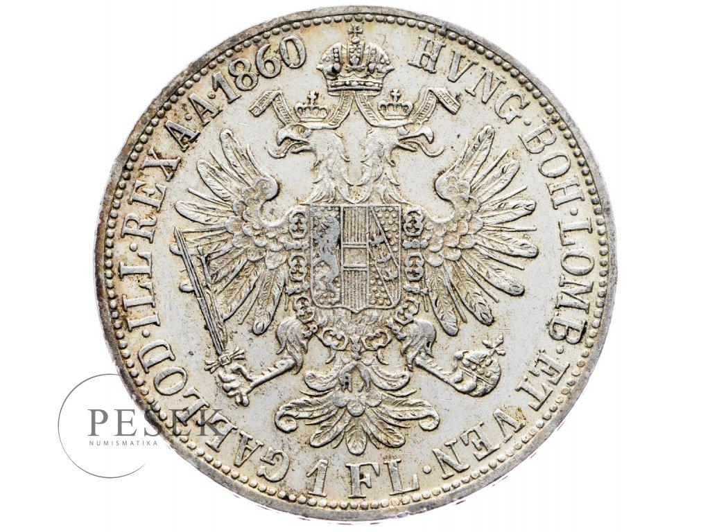 5859 zlatnik 1860 a