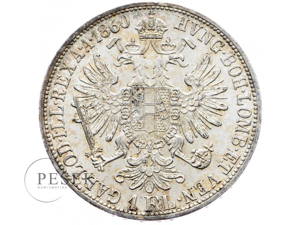 5868 zlatnik 1860 a
