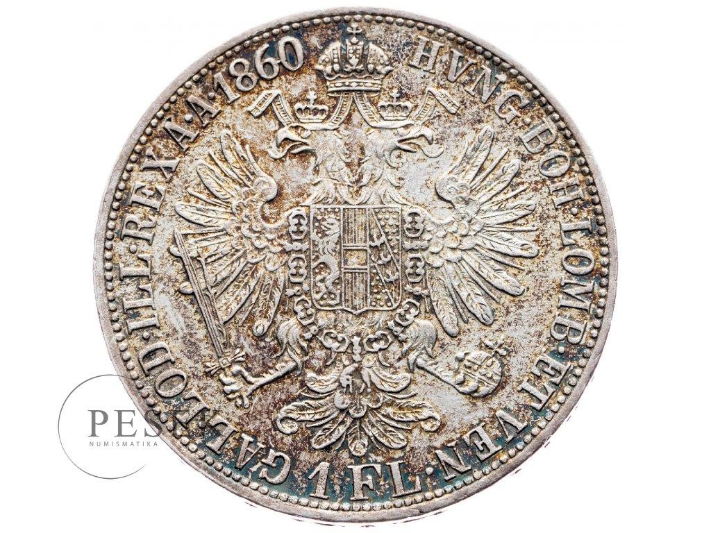 5874 zlatnik 1860 a