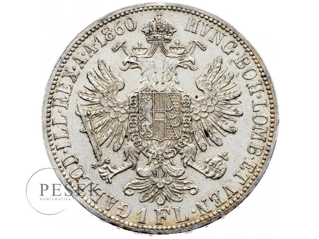 5877 zlatnik 1860 a
