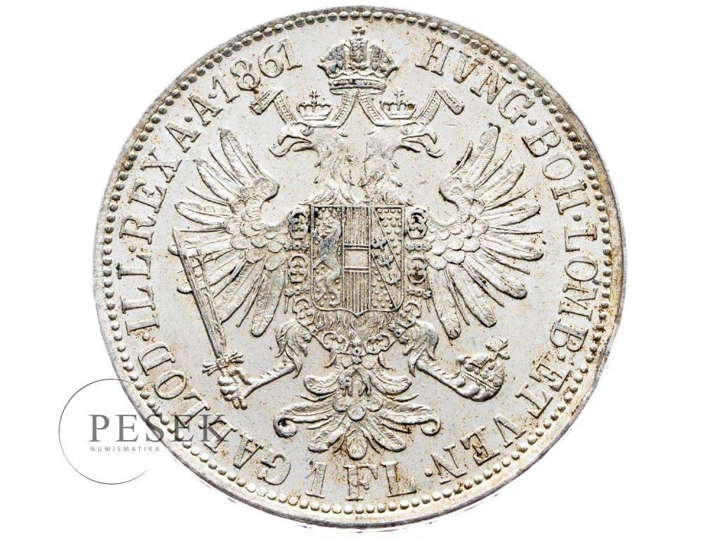 5886 zlatnik 1861 a