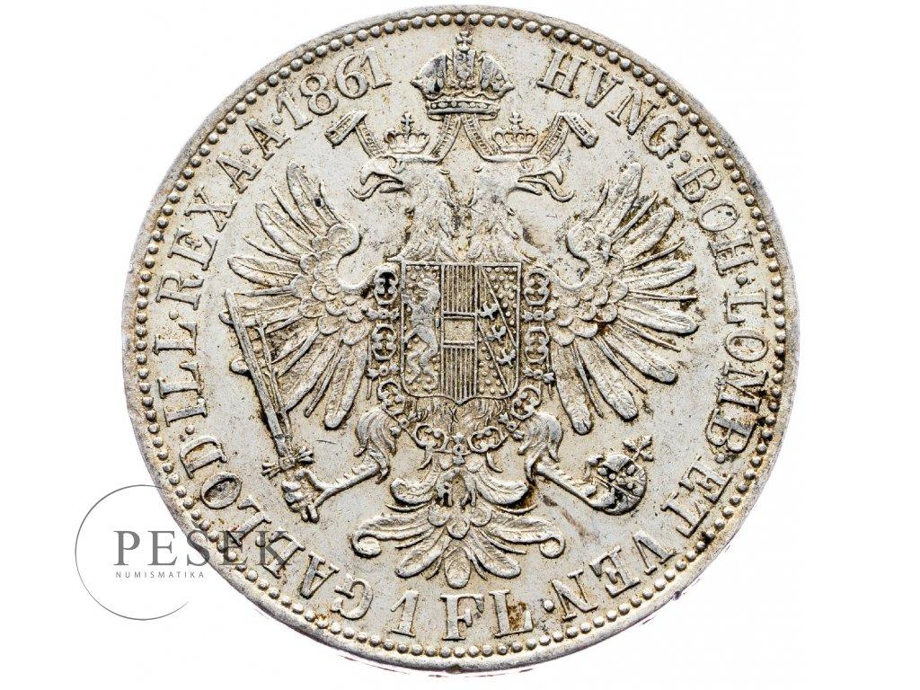5889 zlatnik 1861 a