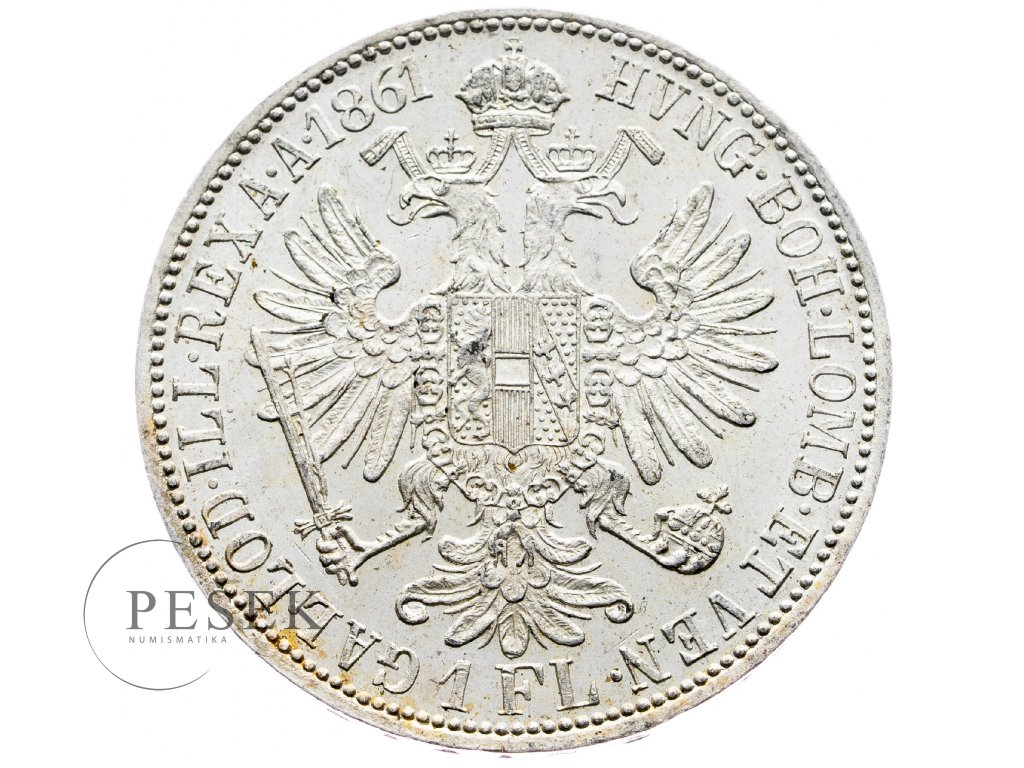 5892 zlatnik 1861 a
