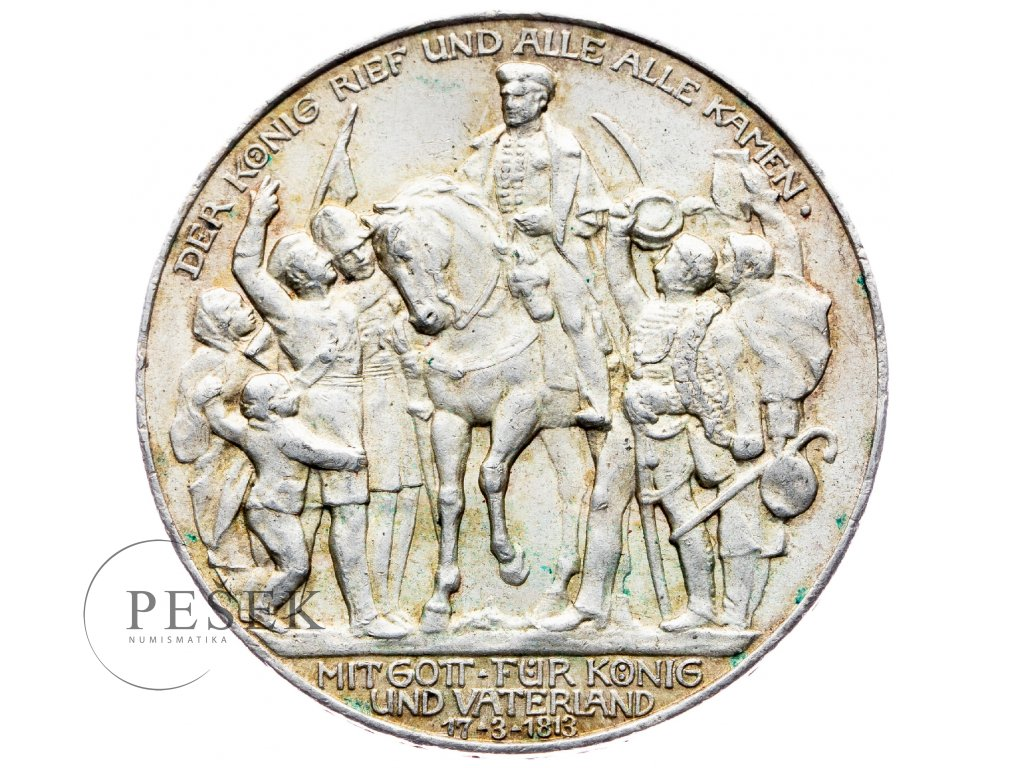 6012 prusko 3 marka 1913 a kral zvolal