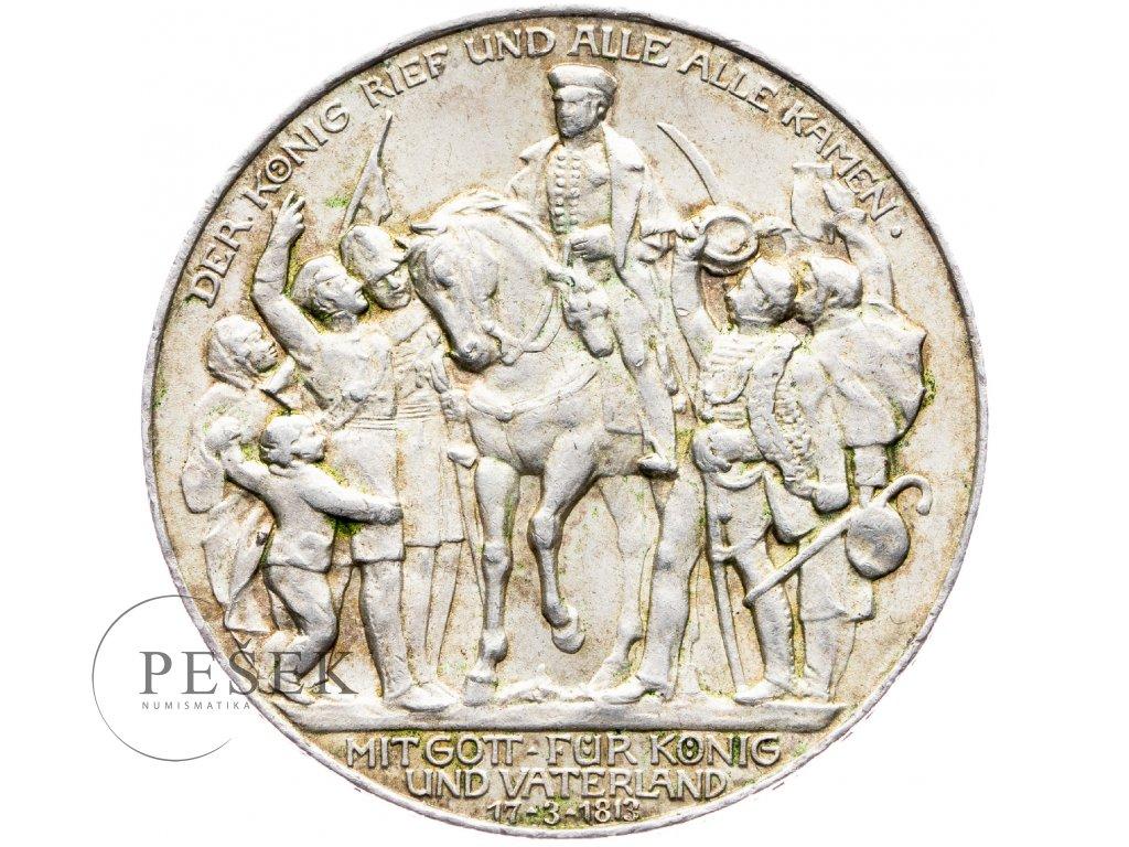6015 prusko 3 marka 1913 a kral zvolal