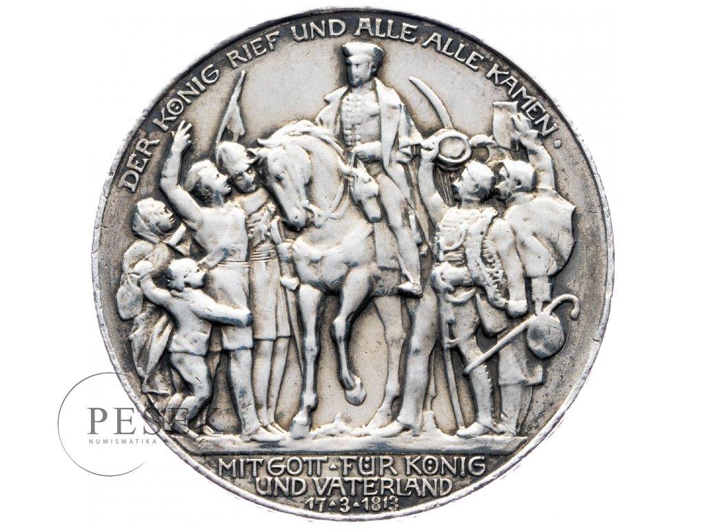 6021 prusko 3 marka 1913 a kral zvolal