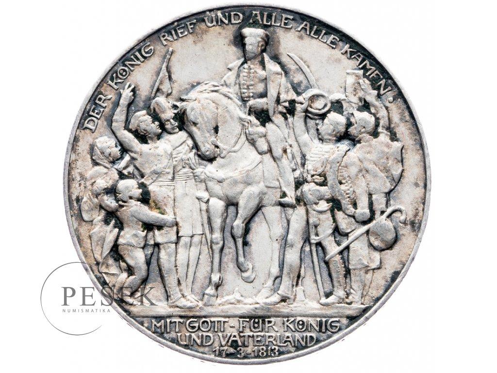6024 prusko 3 marka 1913 a kral zvolal