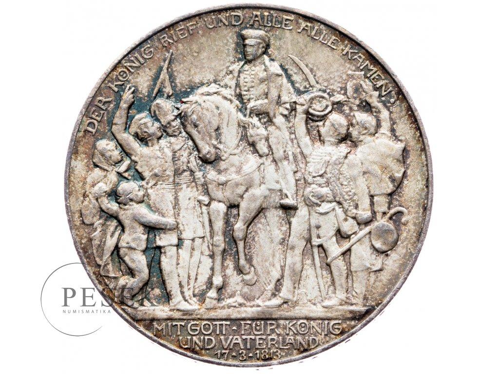 6027 prusko 3 marka 1913 a kral zvolal