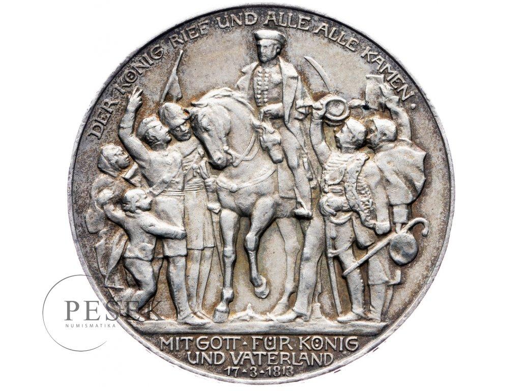 6030 prusko 3 marka 1913 a kral zvolal