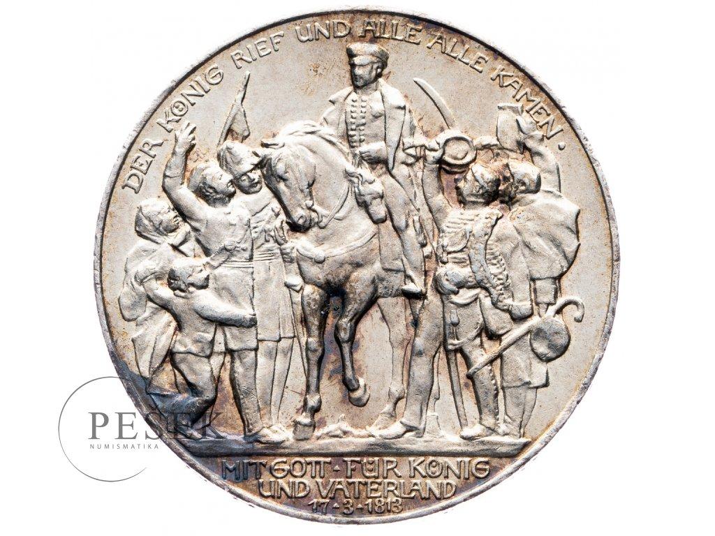 6033 prusko 3 marka 1913 a kral zvolal