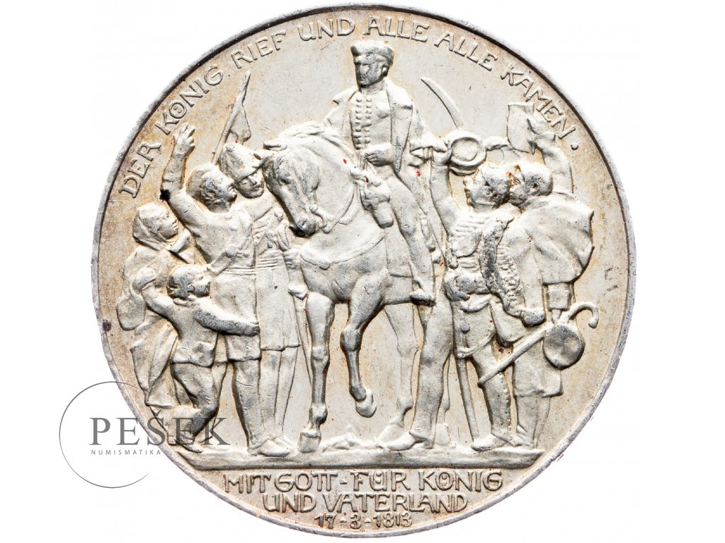 6036 prusko 3 marka 1913 a kral zvolal