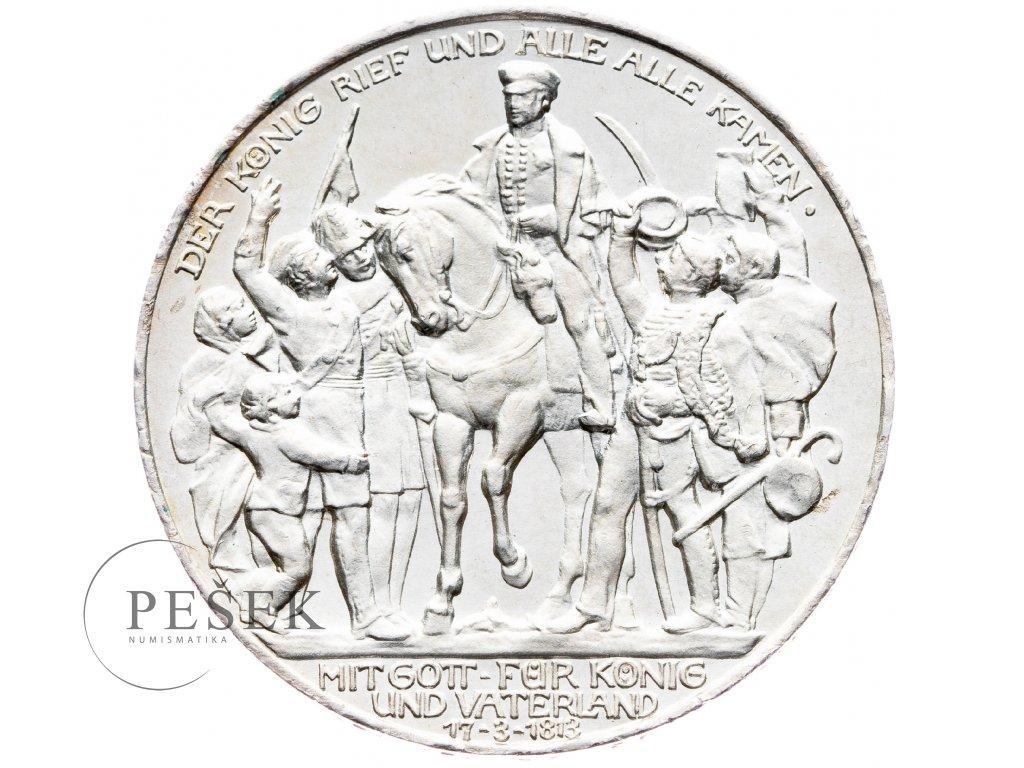 6039 prusko 3 marka 1913 a kral zvolal