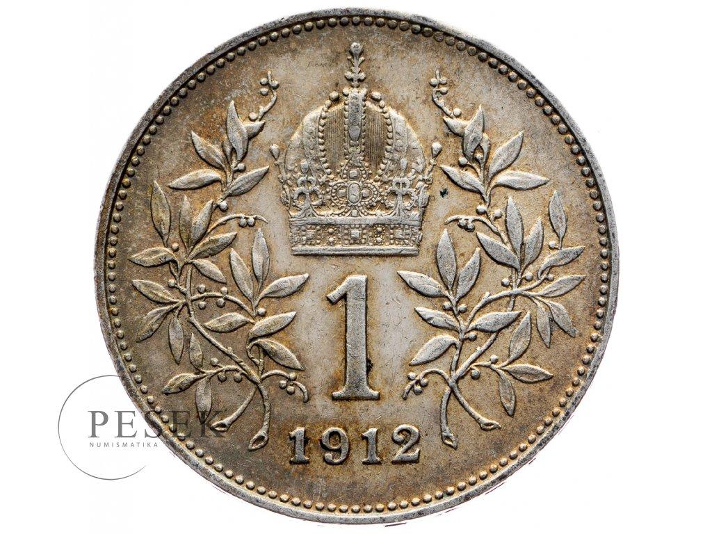 6465 1 koruna 1912 bz