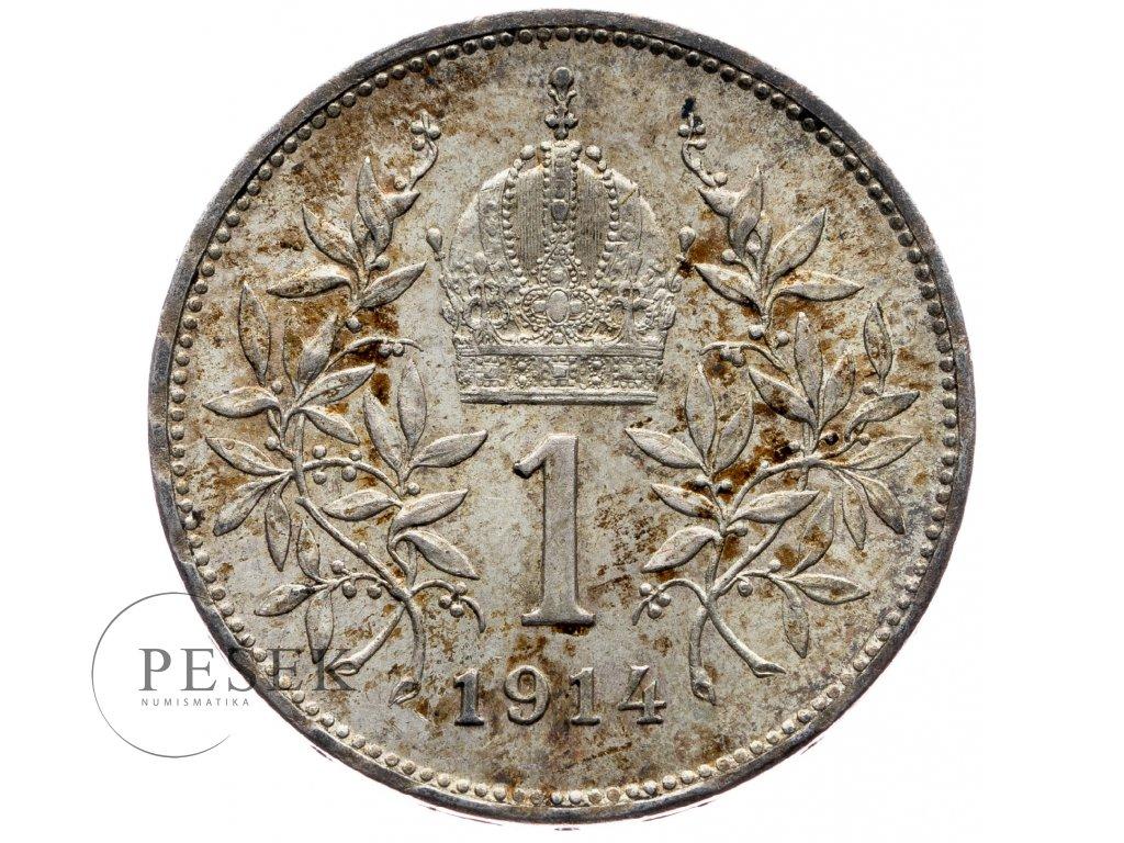 6492 1 koruna 1914 bz