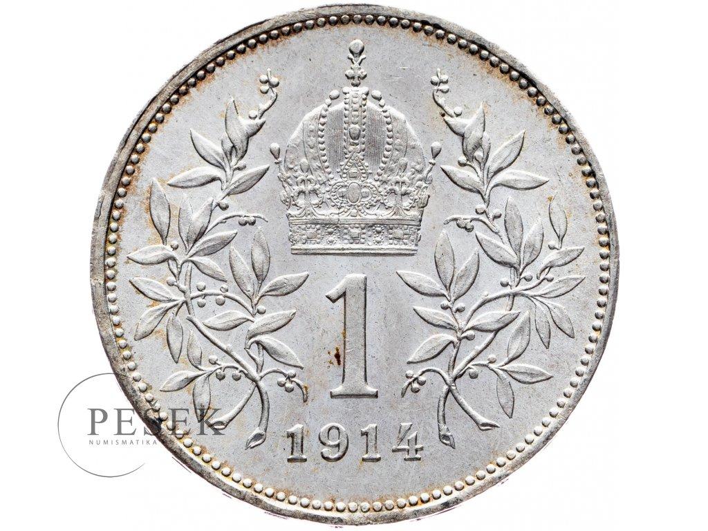 6495 1 koruna 1914 bz