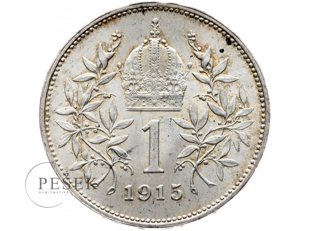 6501 1 koruna 1915 bz