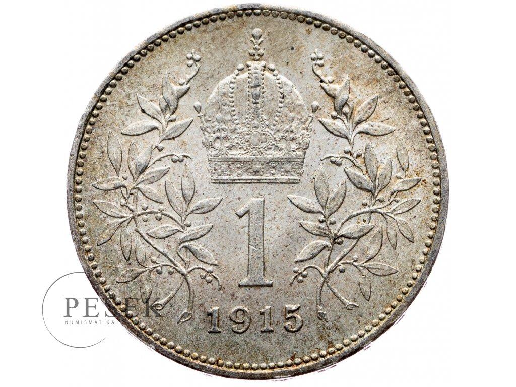 6504 1 koruna 1915 bz