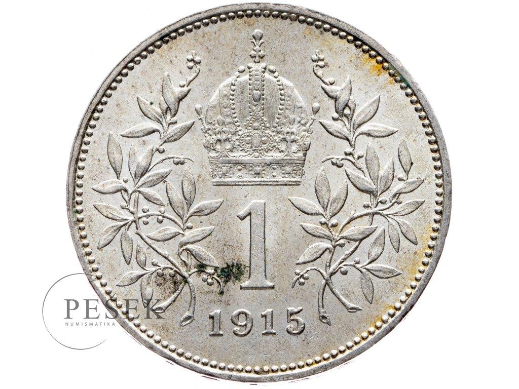 6507 1 koruna 1915 bz
