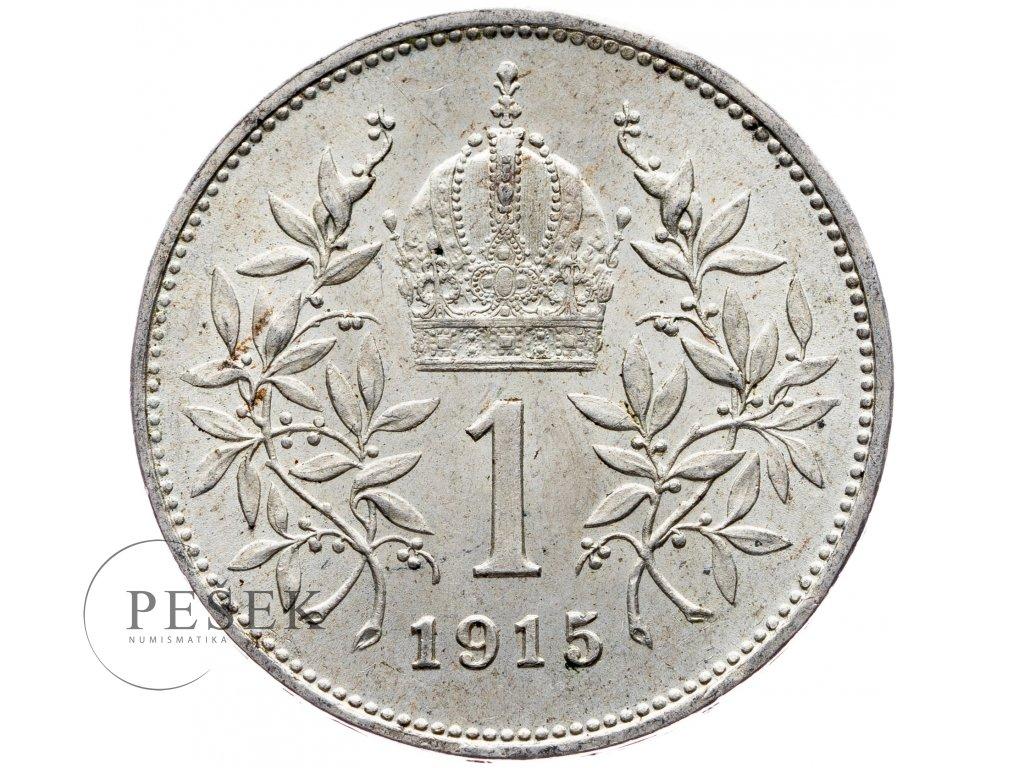 6513 1 koruna 1915 bz