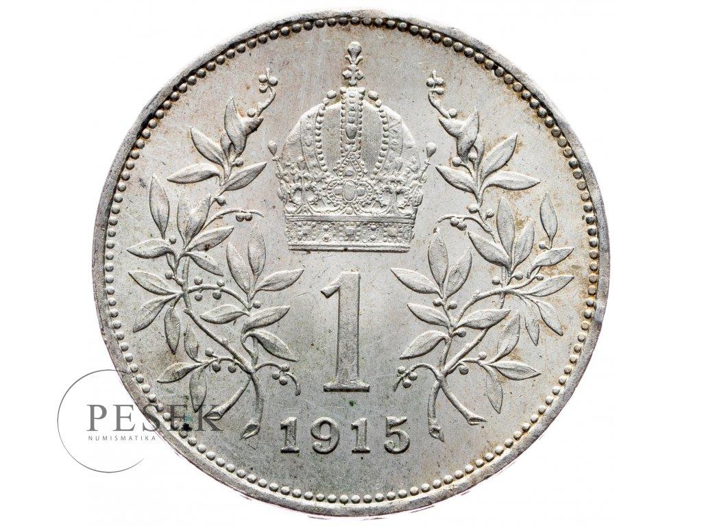 6516 1 koruna 1915 bz