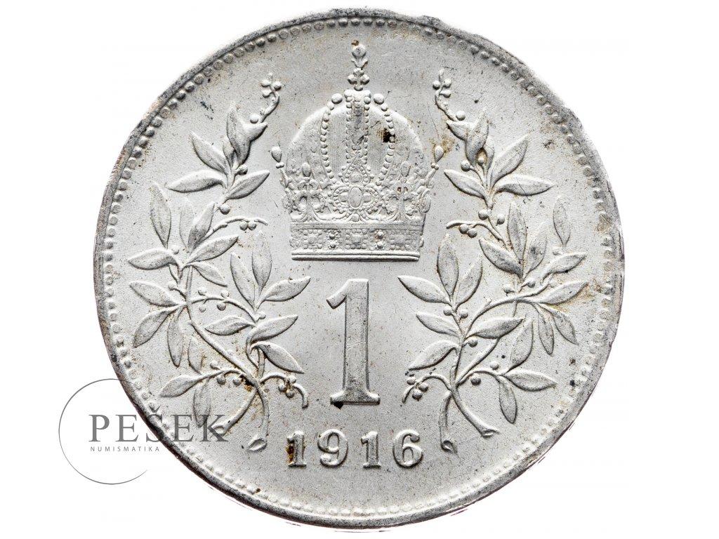 6528 1 koruna 1916 bz