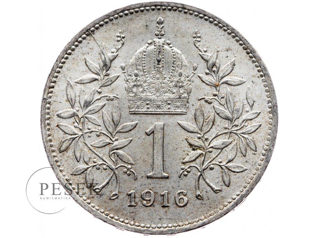 6531 1 koruna 1916 bz